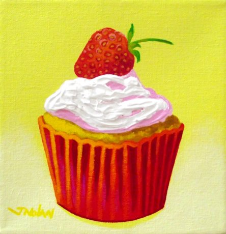 Strawberry Cupcake.