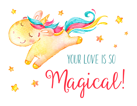 Your Love Is So Magical!