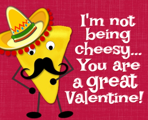 Cheesy Valentine!