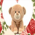 Cute Valentine's Teddy Card For You.