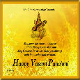 Home : Events : Vasant Panchami 2019 [Feb 10] - Happy Vasant Panchmi.