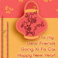 Chinese New Year Greetings To Friends.