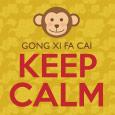 Keep Calm & Monkey Around.