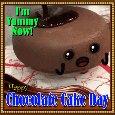 A Nice Chocolate Cake Day Card.