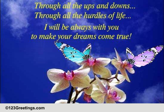 Send Make Your Dreams Come True Day Greetings!