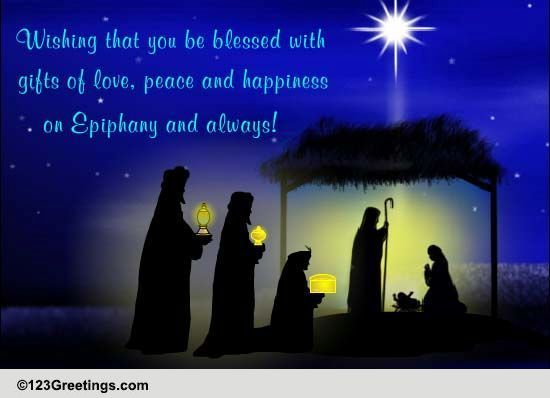 epiphany cards free epiphany wishes greeting cards 123