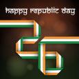 Patriotic Greeting On Republic Day.