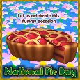 Home : Events : National Pie Day 2021 [Jan 23] - Yummy Occasion!!