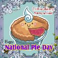 Home : Events : National Pie Day 2021 [Jan 23] - A Pie Celebration Ecard.