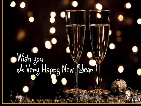 Welcome The New Year Of Fun And Joy.