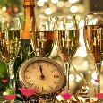 Cheers! Happy New Year!