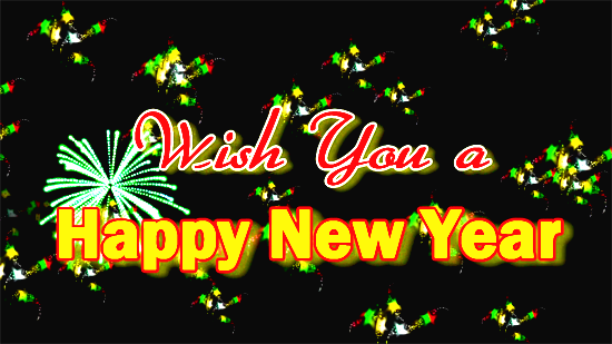 Wish You A Happy New Year.
