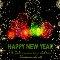 New Year Fireworks Ecard.
