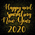 Welcome Sparkling New Year 2020!
