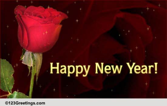 new year like a rose free flowers ecards greeting cards 123 greetings