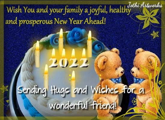 Happy Healthy Amp Prosperous New Year Free Friends Ecards