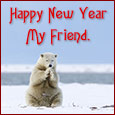 New Year For Friend...