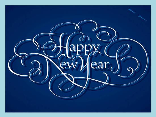 Greetings For A Happy New Year.