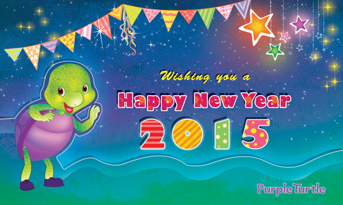 Happy New Year 2015 Ecard.
