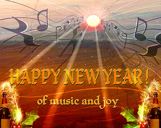 Happy new year of music and joy free happy new year ecards 123 happy new year of music and joy m4hsunfo