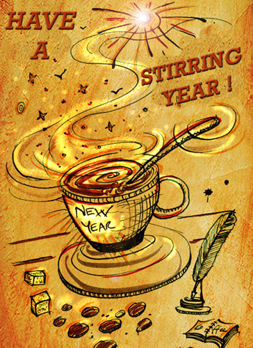 Have A Stirring New Year Full Of Beans!