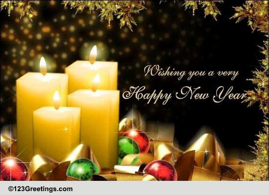 Heartfelt New Year Wishes! Free Happy New Year eCards, Greeting Cards  123 G...