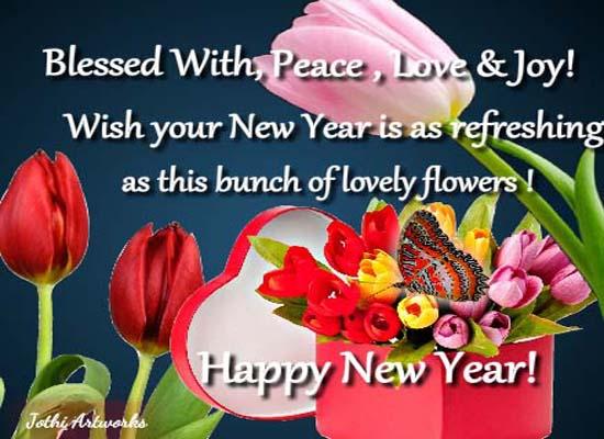 Send New Year Greetings!