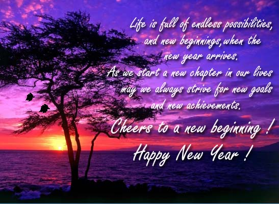 cheers to new beginning free happy new year ecards