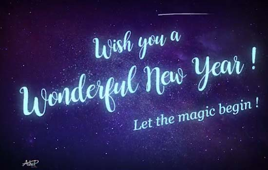 magical new year wishes for you free happy new year ecards 123 greetings