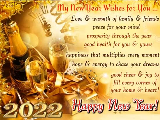Best Wishes For New Year! Free Happy New Year eCards ...