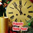 New Year Start With Joyous Beginning.