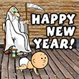 Old Father Time New Year.