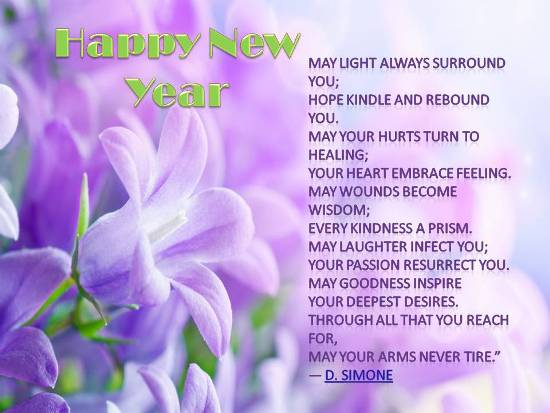 new year blessings for loved ones