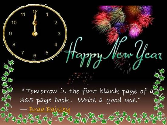 Wishes For A Happy New Year.