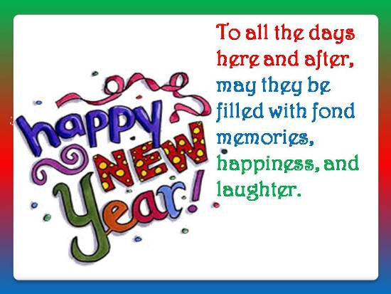 Happy New Year Wish For Loved Ones.