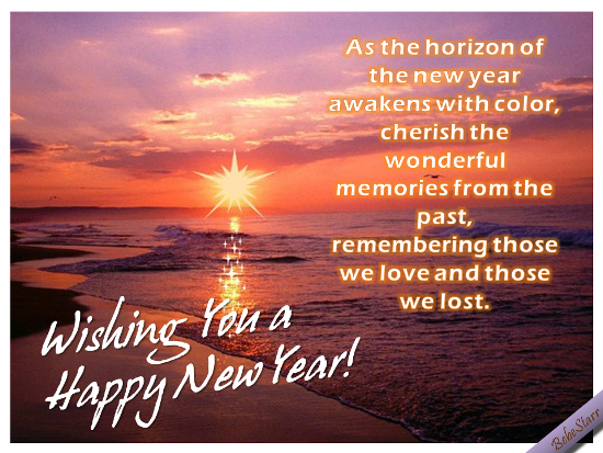 Horizon Of The New Year Awakens.