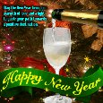 Inspirational New Year Ecard.