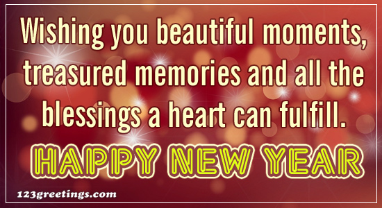 send and share this cute new year message