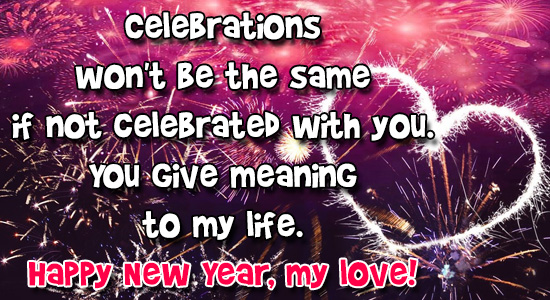 Meaningful Happy New Year.