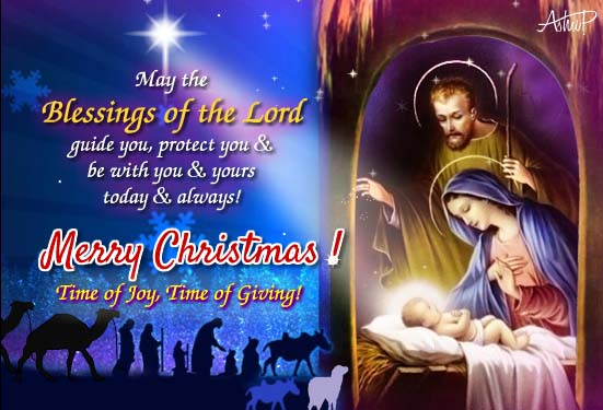 Christmas Blessings Of The Lord! Free Orthodox Christmas ...