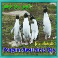 Home : Events : Penguin Awareness Day 2018 [Jan 20] - Penguins Jump For Joy.