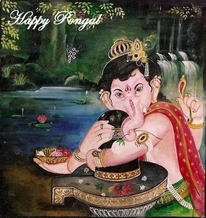 Happy Thai Pongal.