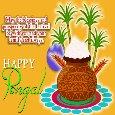 A Happy Pongal Celebration Ecard.