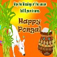Home : Events : Pongal 2020 [Jan 15] - A Happy Pongal Wish Card...