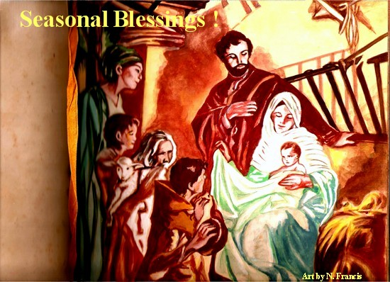 Seasonal Blessings!