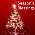 Shining Season's Greetings.