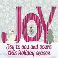 Joy To You And Yours.
