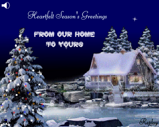 Season S Greetings From Our Home To Yours Cards Free