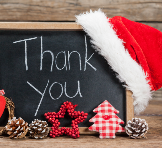Thankful To Santa.