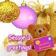 Joyous Holiday Season And New Year!